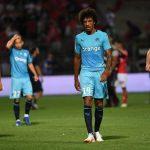 Luiz Gustavo muestra su felicidad en el Olympique de Marsella