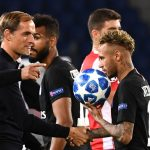 Neymar y Tuchel, máxima complicidad
