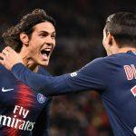 PSG 4-1 Rennes:  Di Maria y Cavani resuelven el partido